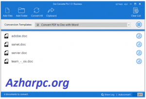 Doc Converter Pro 5.1.0.38 Business With Crack Serial Key [Latest]